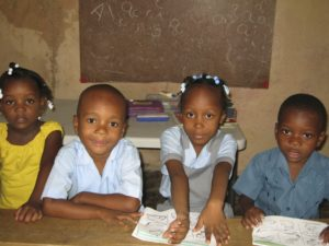 What We Have Done - Four Young Kids in Class